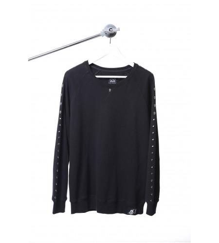 S. Rocker Series Sweater (Black)