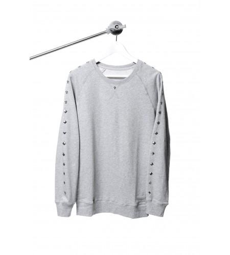 S. Rocker Series Sweater (Grey)