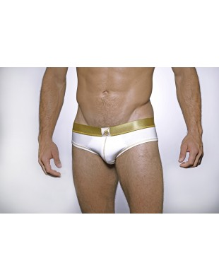 Venus Series Brief (White & Gold)