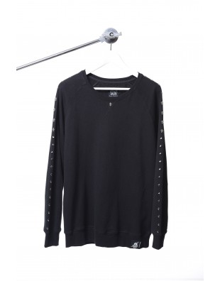 S. Rocker Series Sweater (Black)