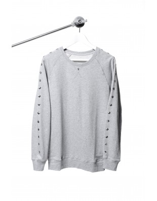 S. Rocker Series Sweater (Grey)