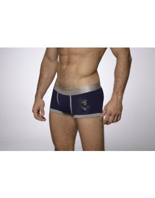 Earldom Trunk (Silver & Blue)