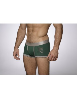 Earldom Trunk (Silver & Green)