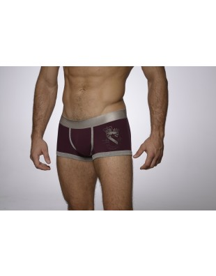 Earldom Trunk (Silver & Red)